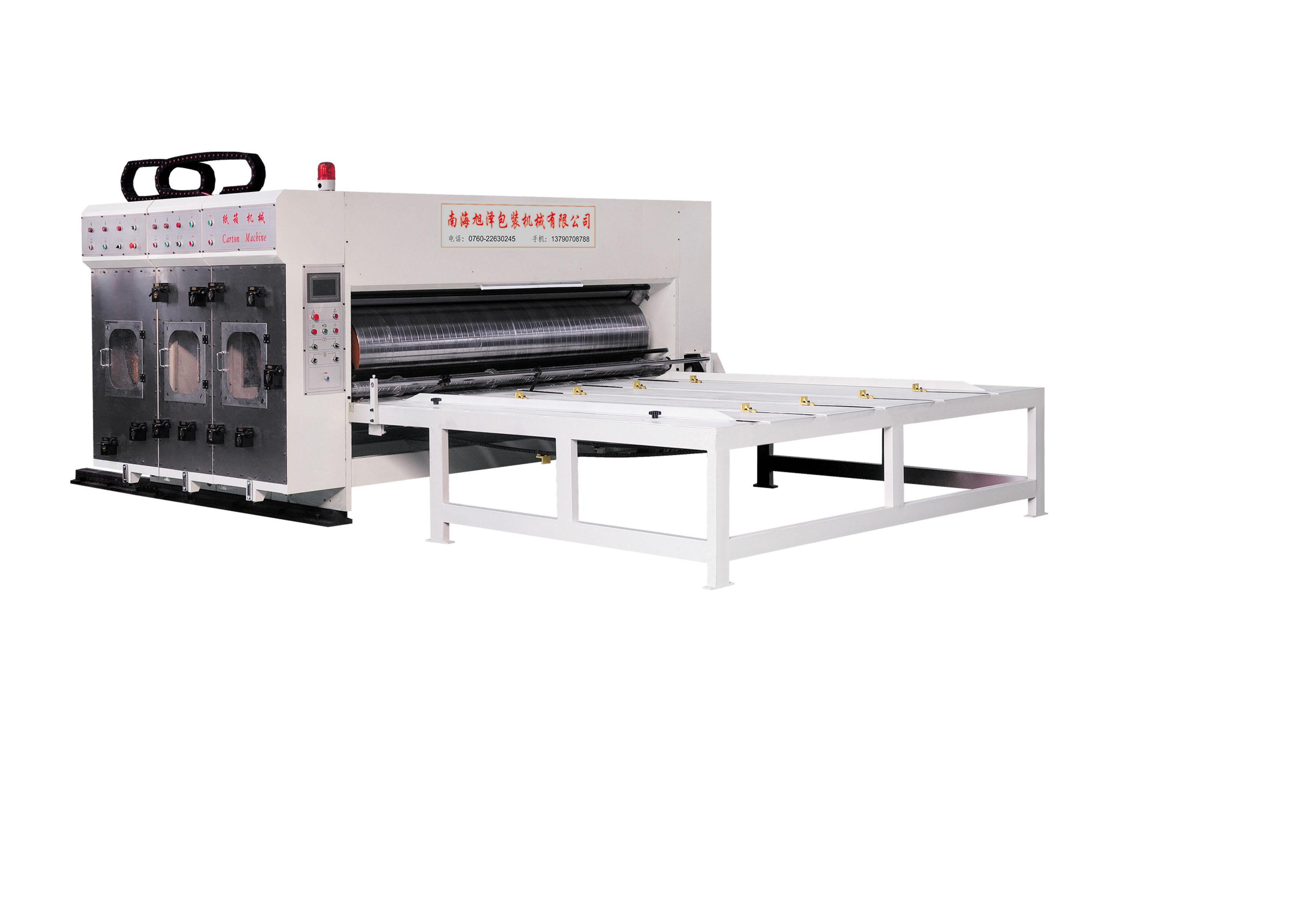 xz瓦楞紙闆多色印刷開槽機