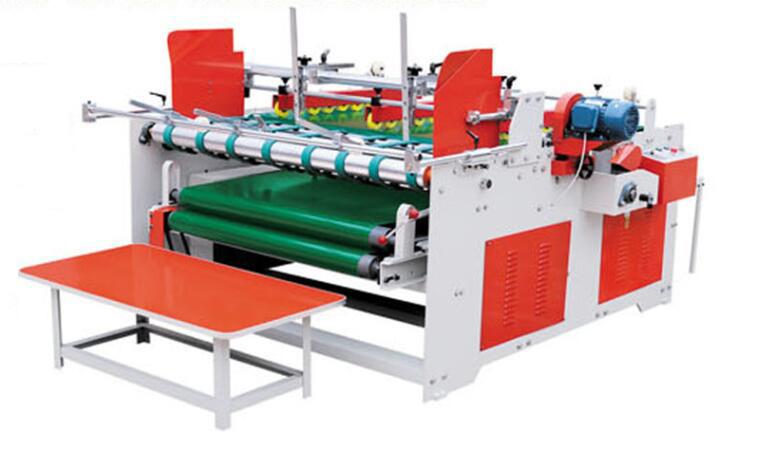 XZ半自動壓合式粘紙機