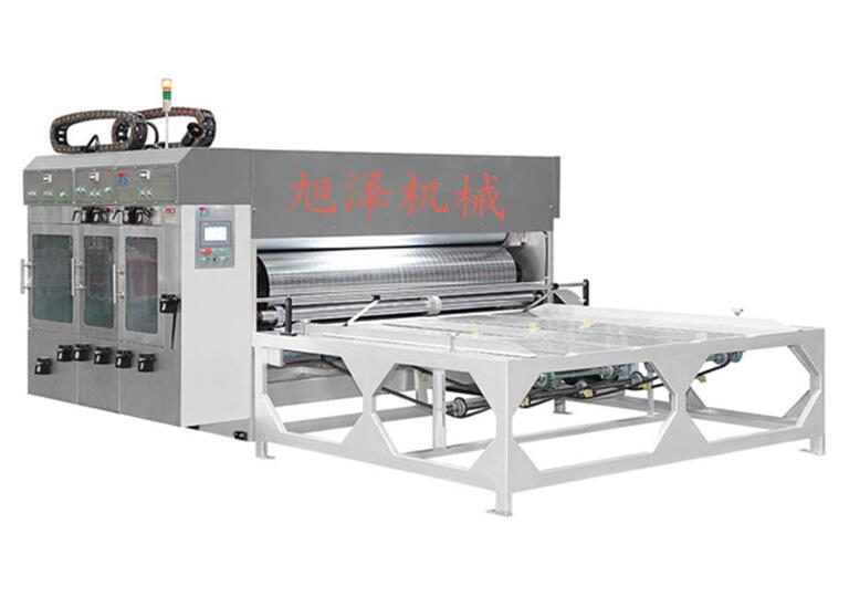 XZ型瓦楞紙闆多色印刷開槽機